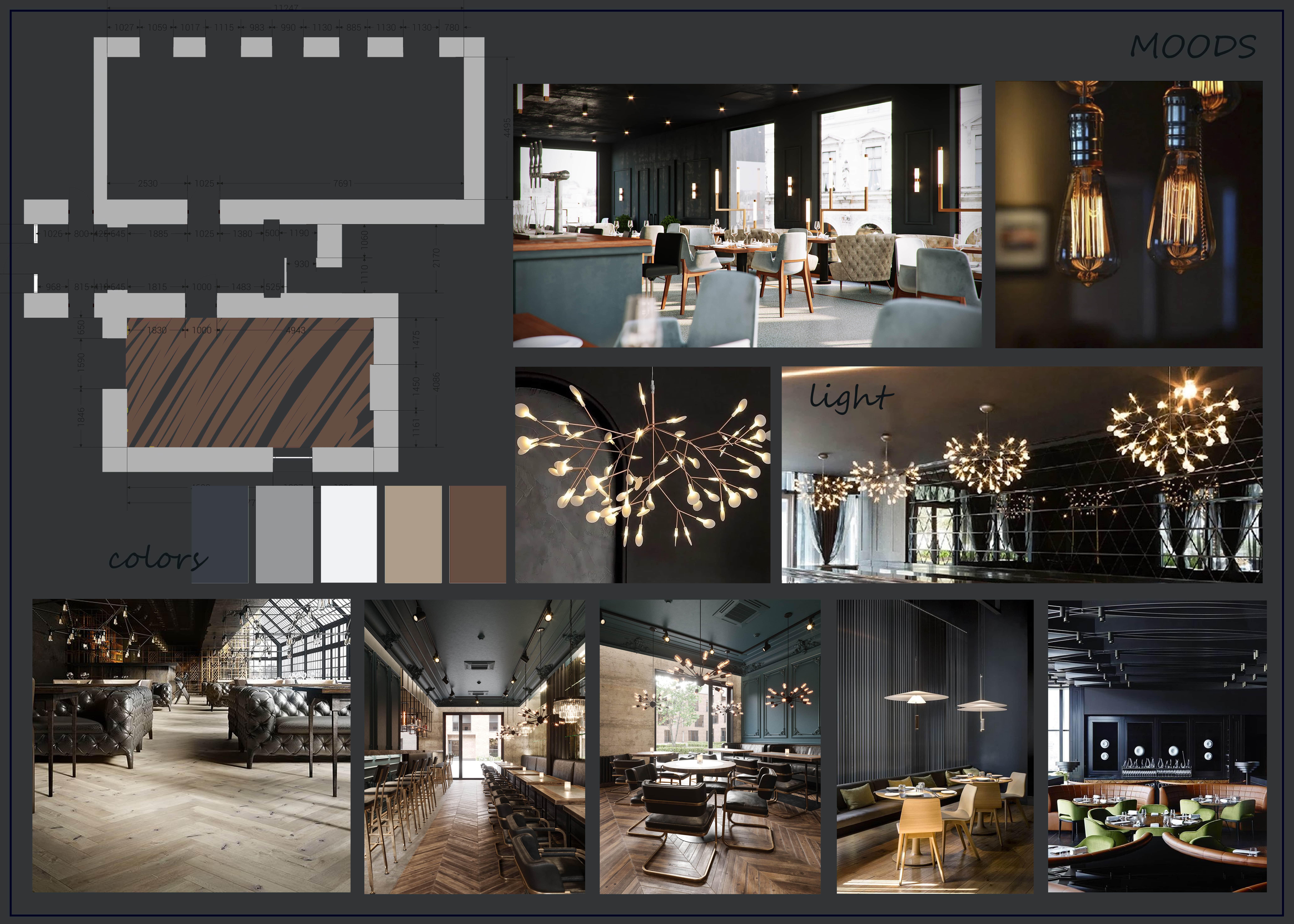 Create Interior Mood Board By Ana 3dartist