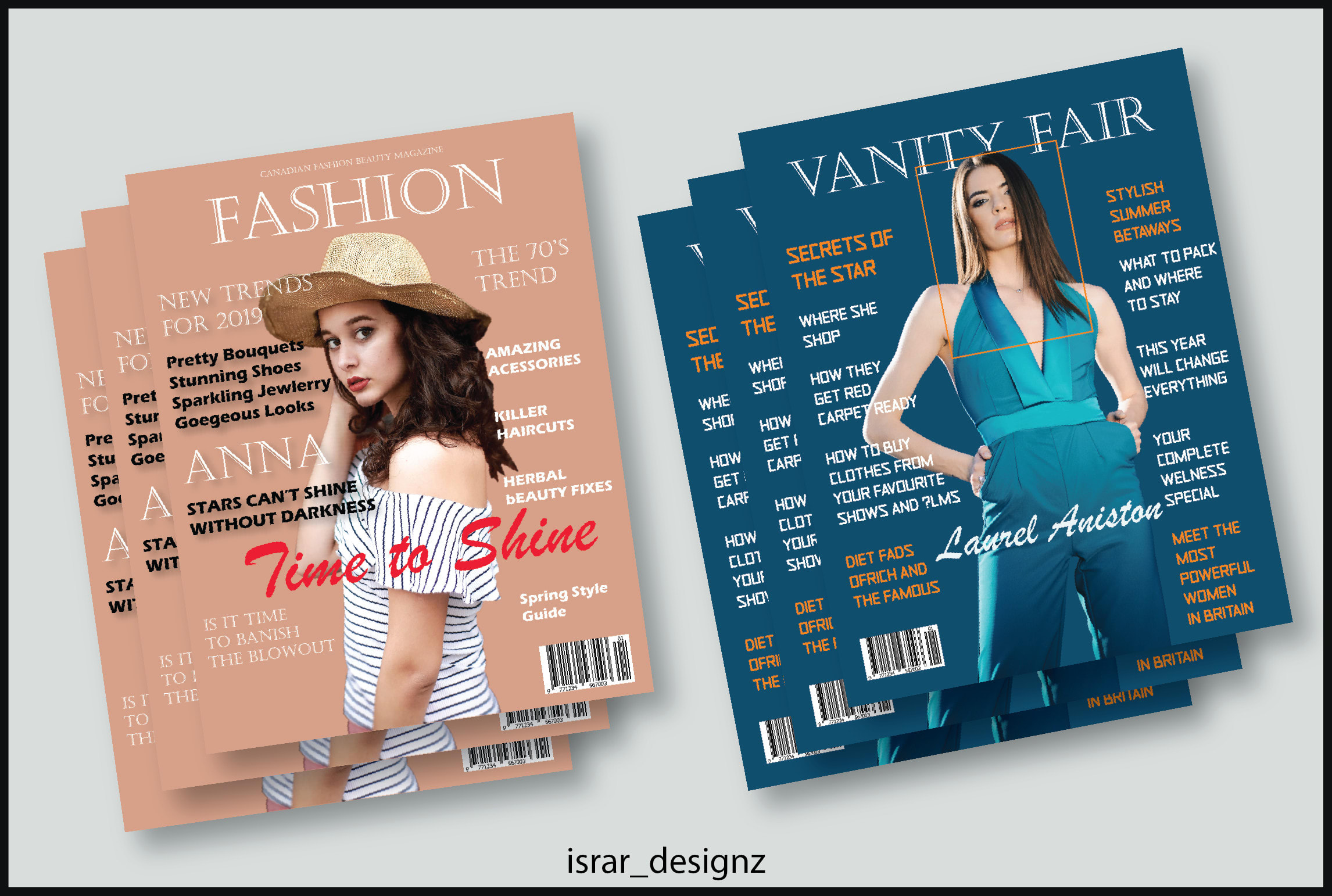 Design Book And Magazine Cover For You By Israr Designz