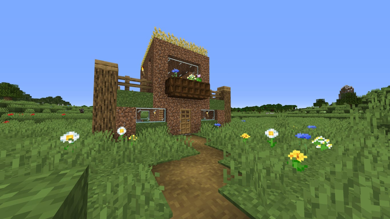 Build you a dirt house in minecraft by Pigpugborj