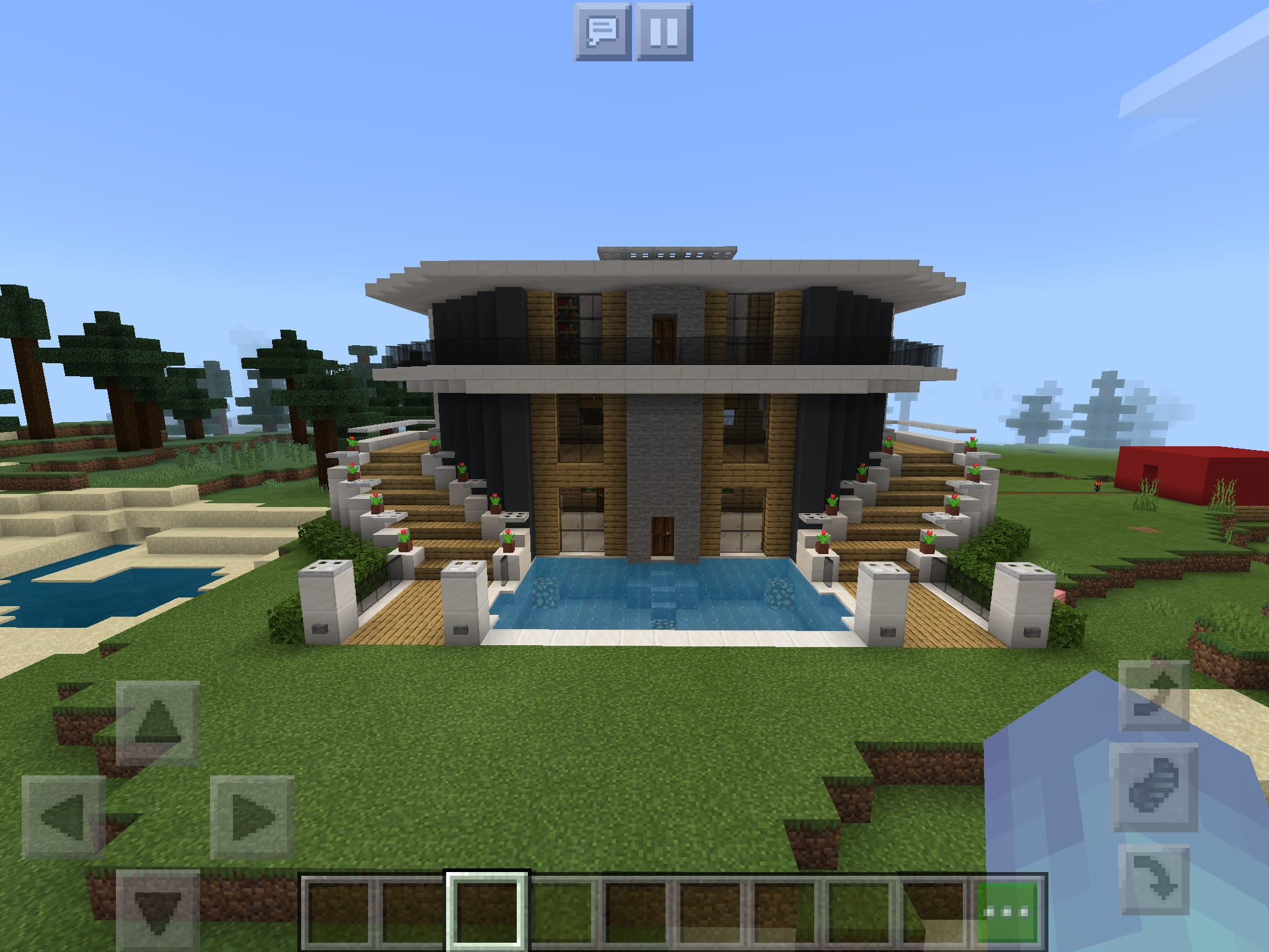 Make you a minecraft mansion by Progamer9