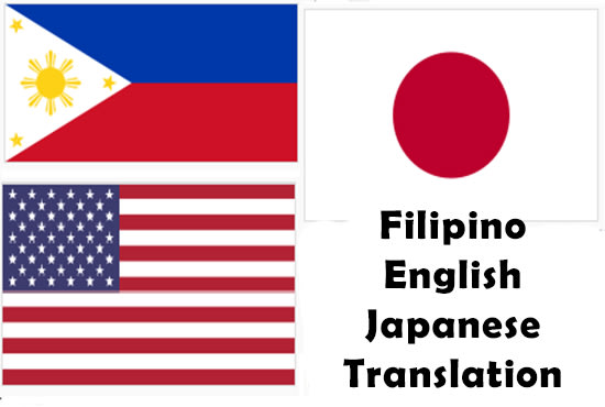 Translation tagalog to japanese