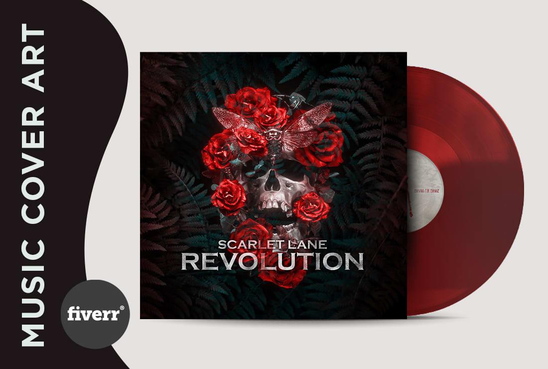 Design Alternative Music Album Cover Art In 24 Hours By Hatimbahia