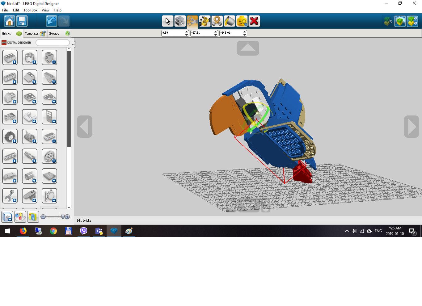 Make Lego Models In Lego Digital Designer By Simonyidenes