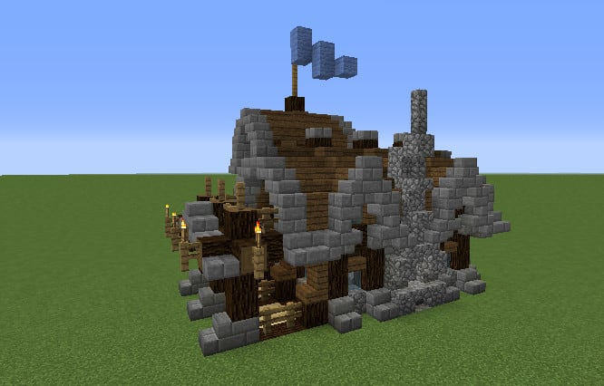 Build You A House On Minecraft Pro By Cris