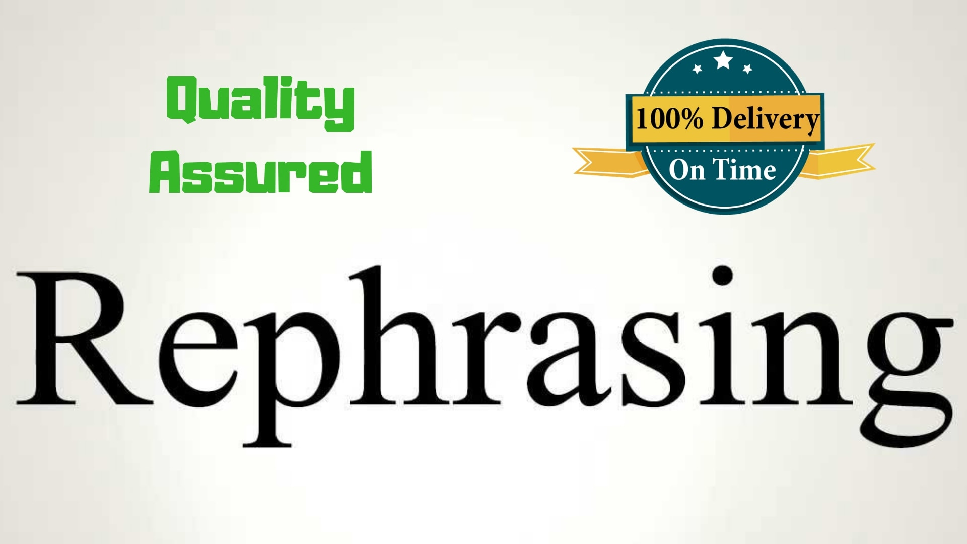 Rephrase Paraphrase Rewrite Proofread And Edit Your Article By Rushanaymeer Fiverr Reword Text