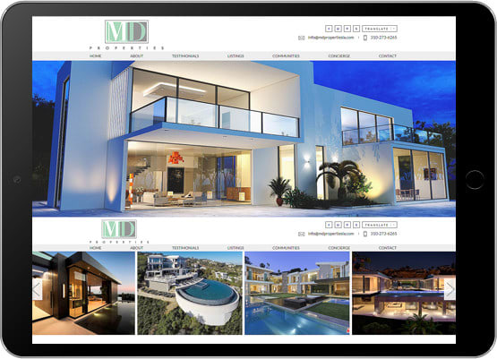 Design Real Estate Website In Wordpress And Wix By Web Solution4u
