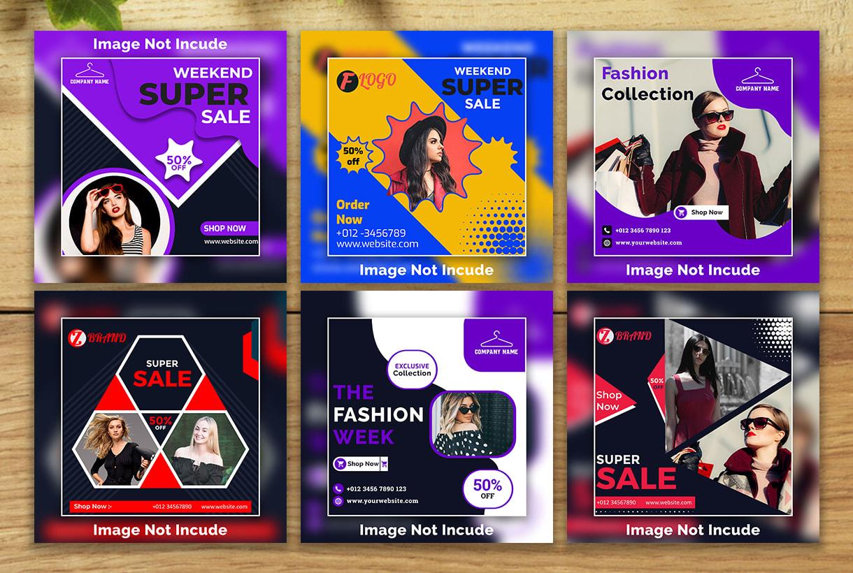 Design Social Media Banner Social Media Posts Cover Design By Saiedafride11