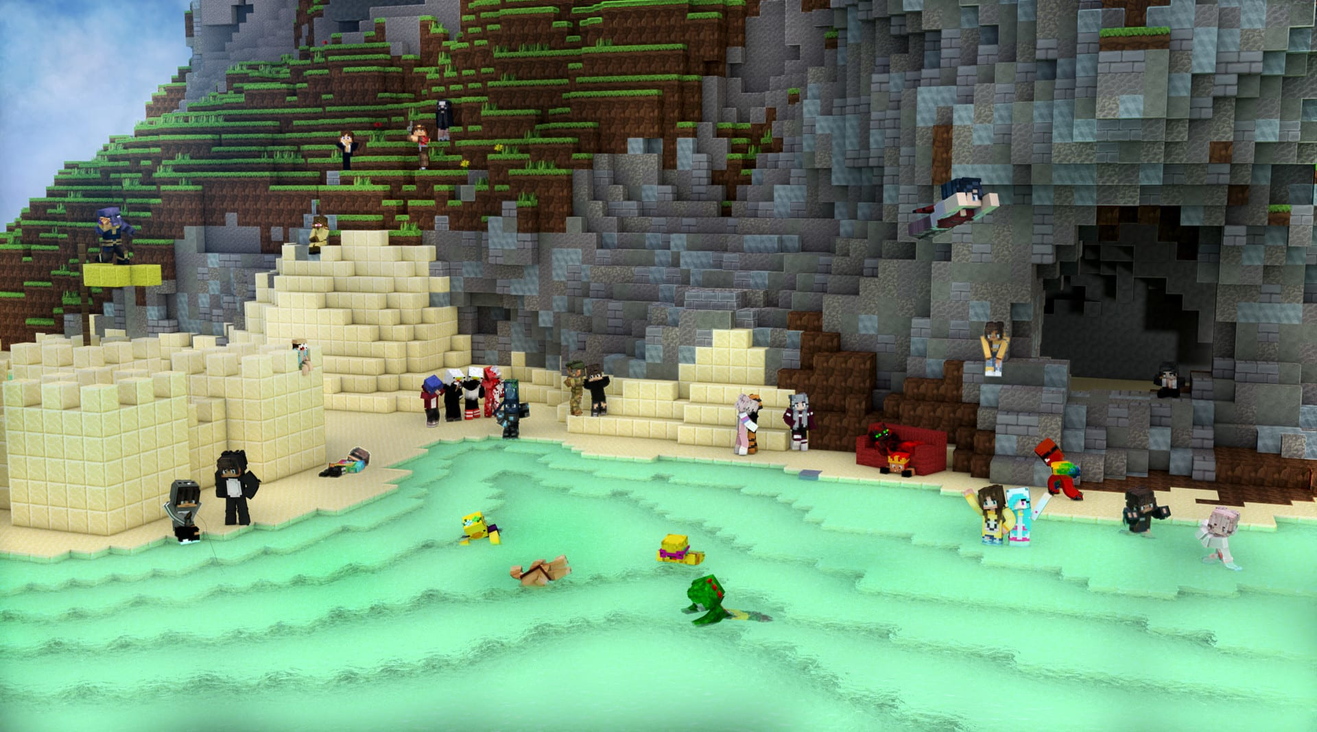Create A Professional Minecraft Wallpaper By Graphicsbanners