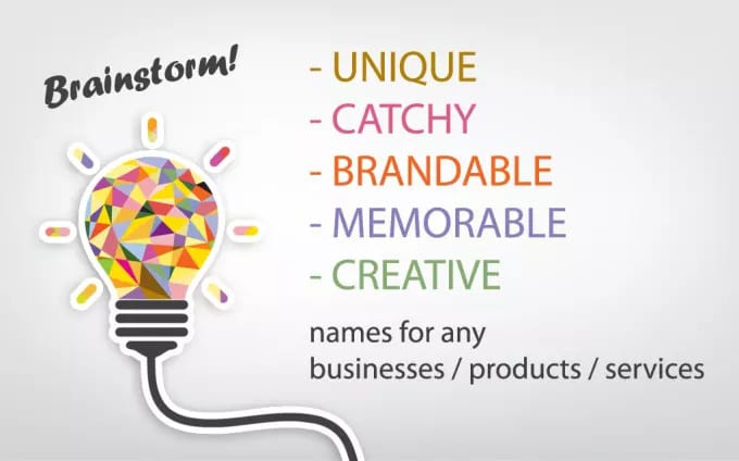 Brainstorm Epic Business Name Ideas And Slogans With Logo And