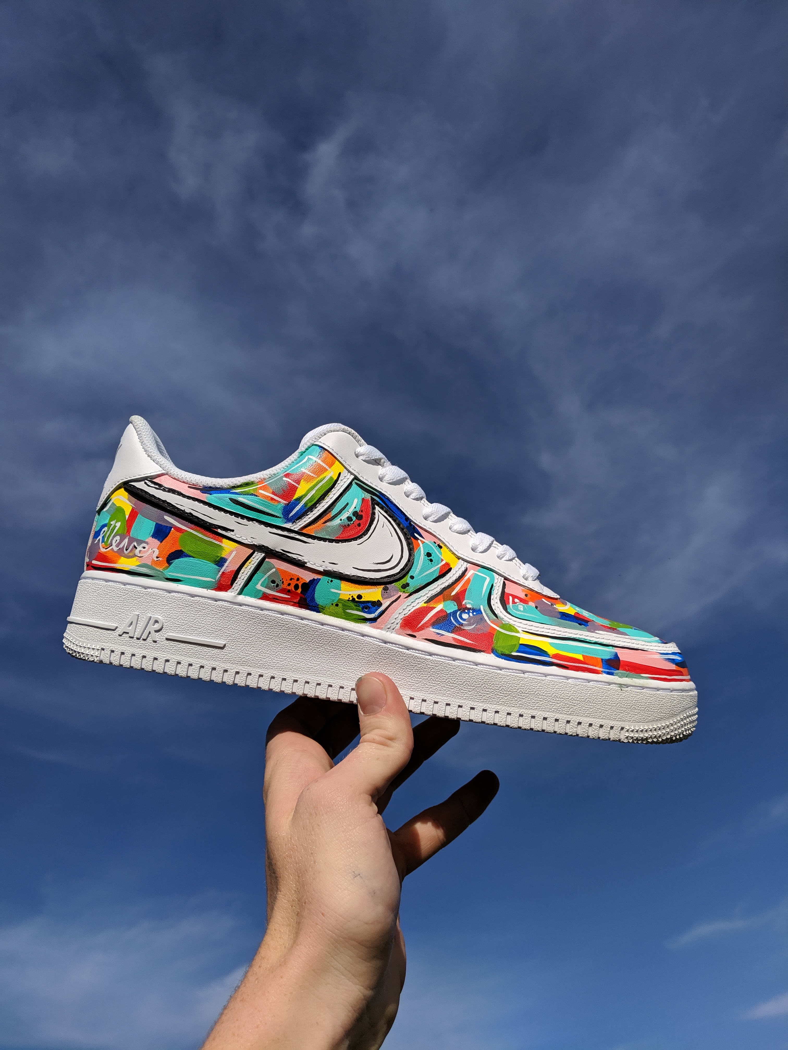 Customize and paint your shoes by