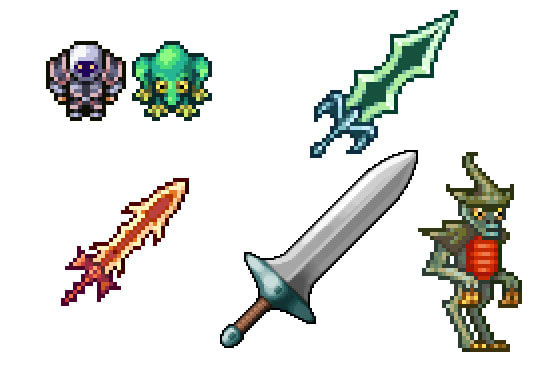 Create 2d Pixel Art Sprites For You By Casperink