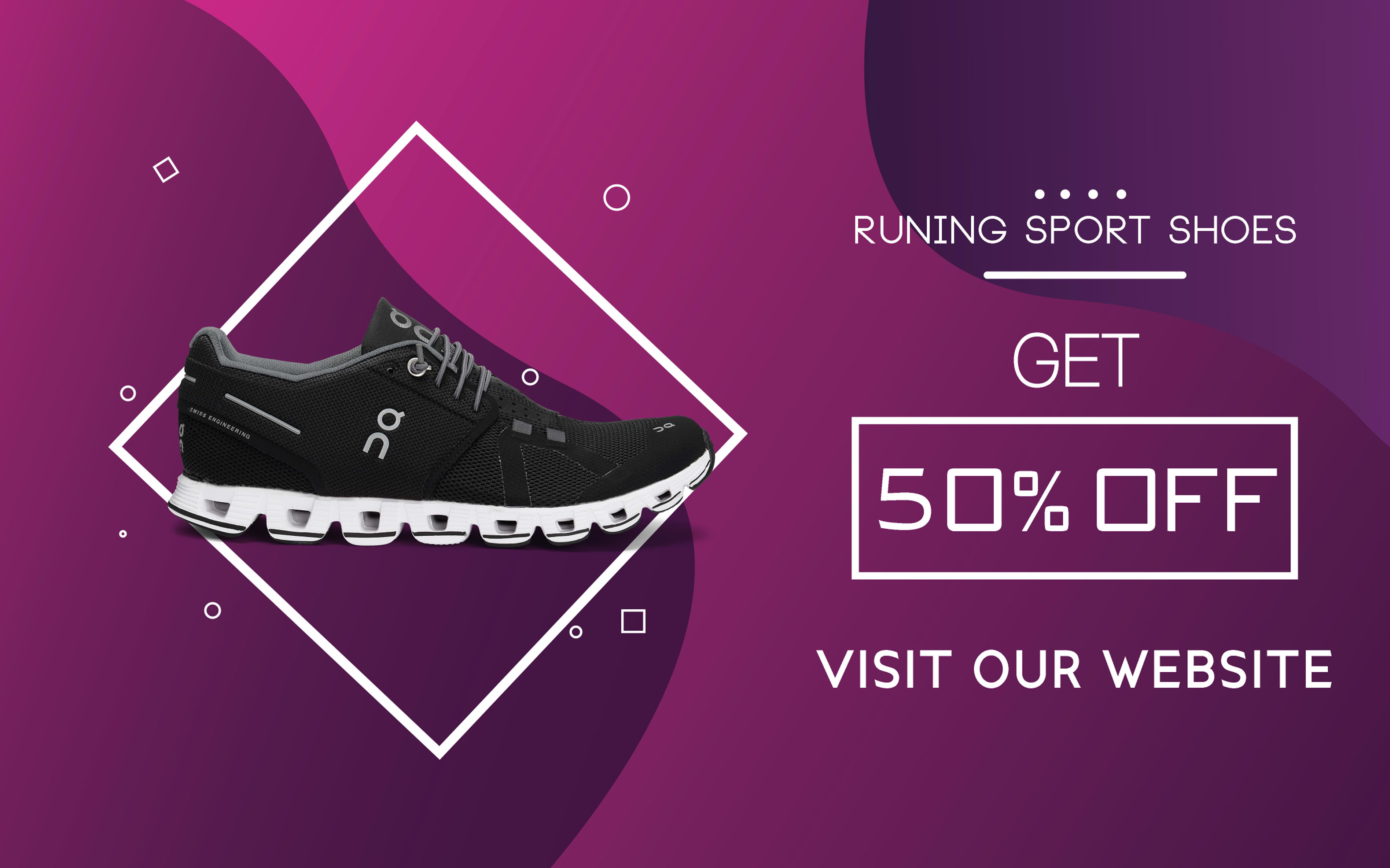 Design a sports shoes sales offer for