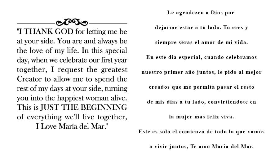 Of life love the spanish my in Meaning Of