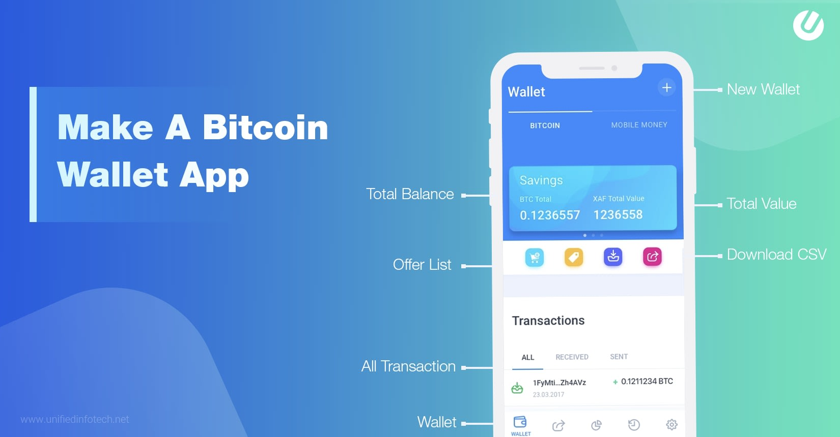 make a cryptocurrency app