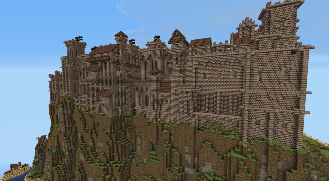 Make You Epic Minecraft Castle By Minecraft2096