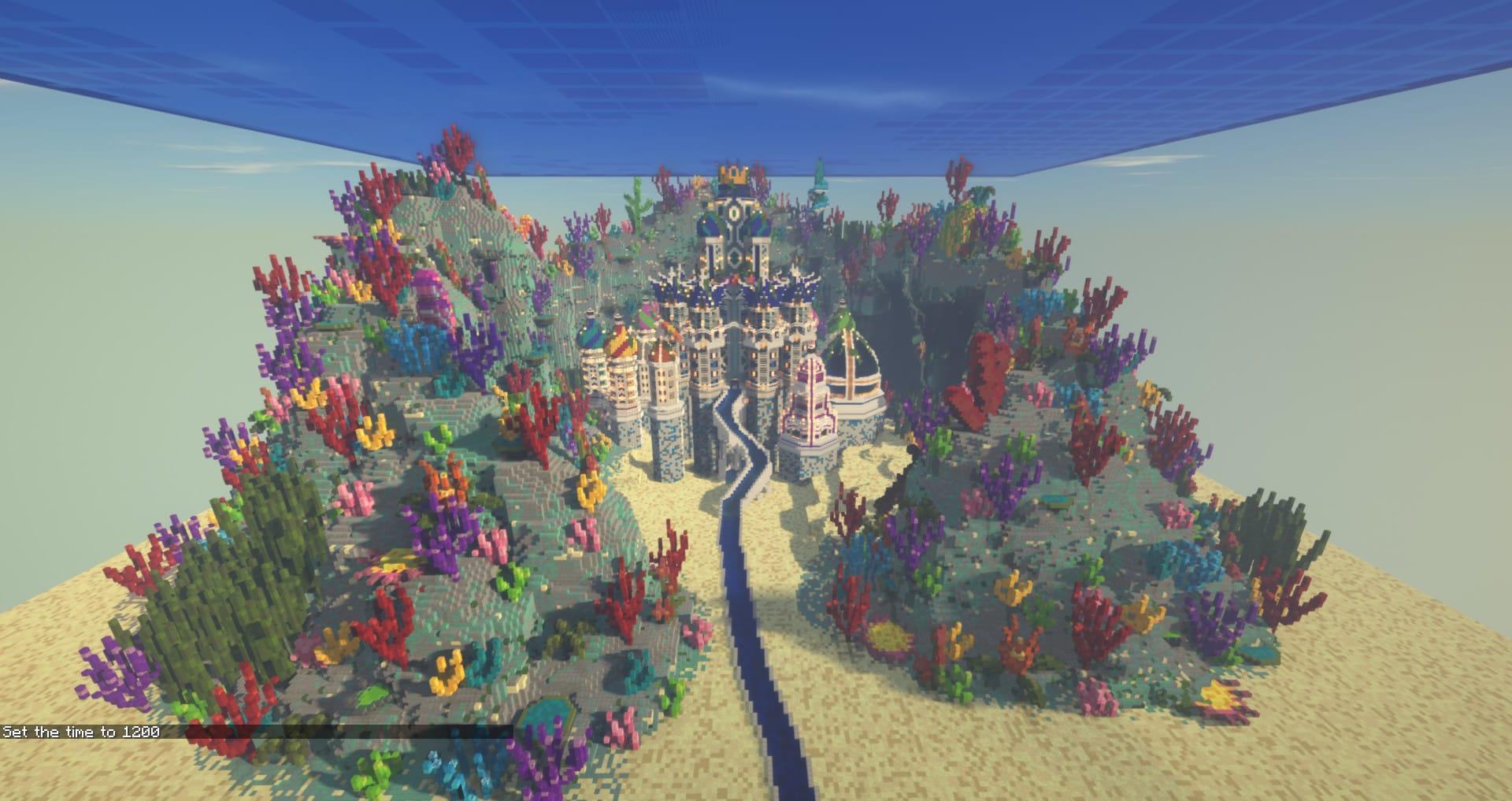 Minecraft 420x370 atlantis build for sale by Kyptin Fiverr