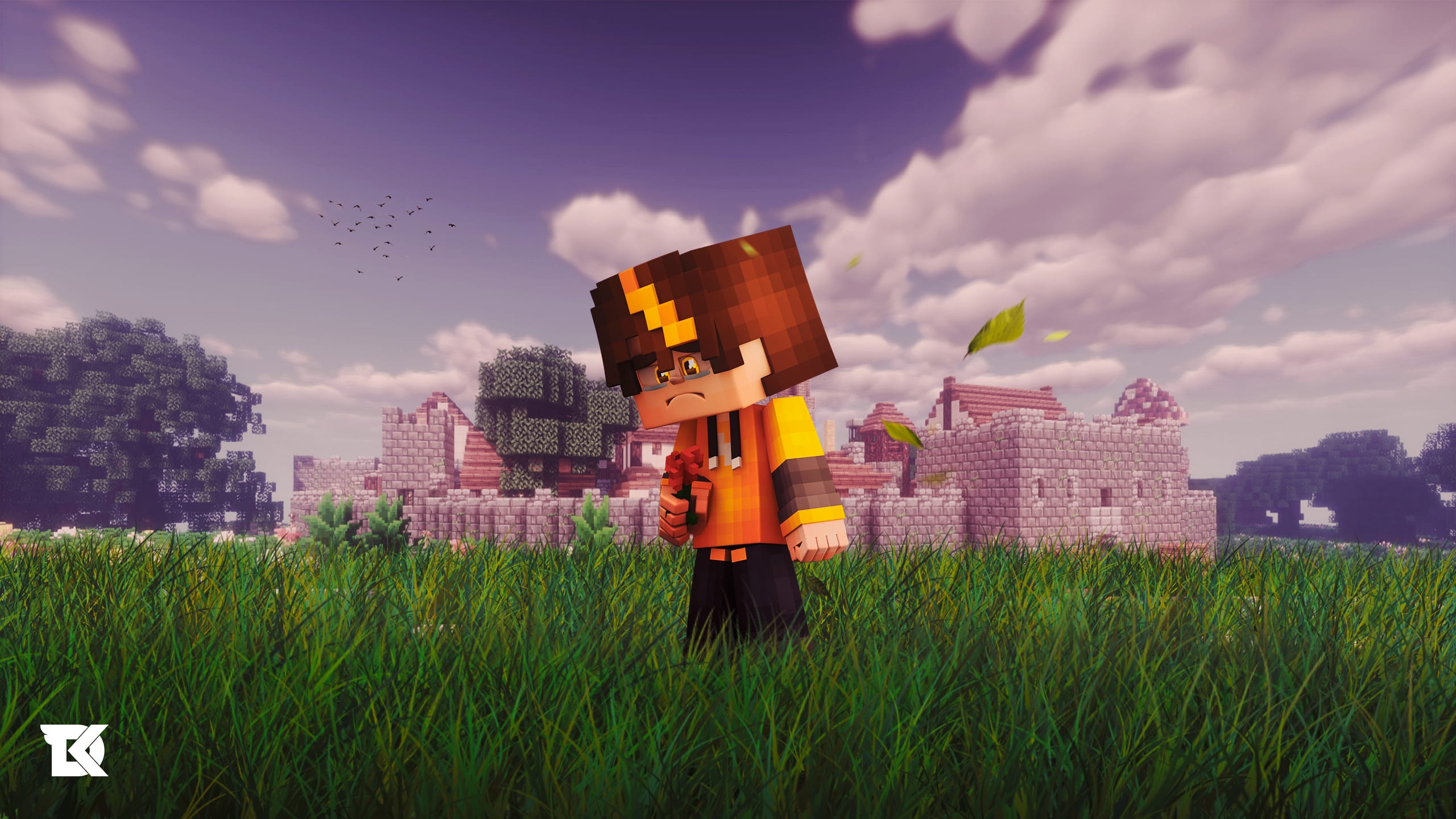 Design An Epic Minecraft Wallpaper Within 24 Hours By Dikefx