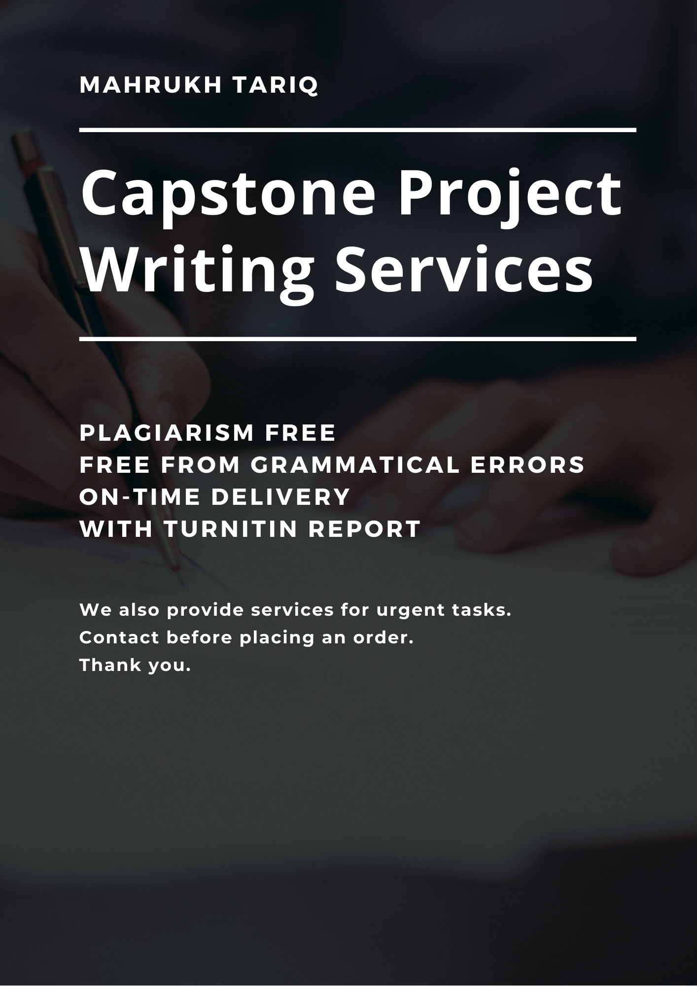 Get Rid of need help with my capstone project  Once and For All