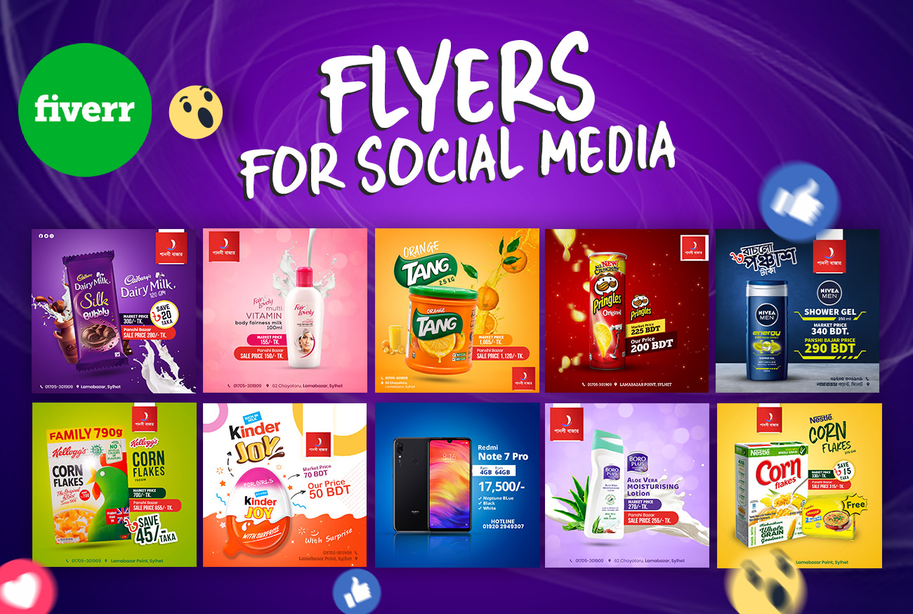 Design Amazing Flyer Or Social Media Post Of Product By Designer Daviid