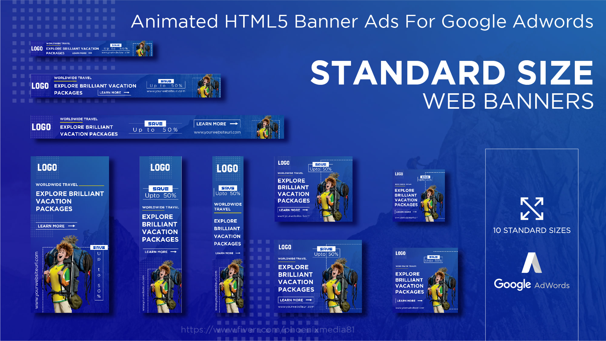 Design Google Adwords Creative Animated Html5 Banner Ads By Phoenixmedia81