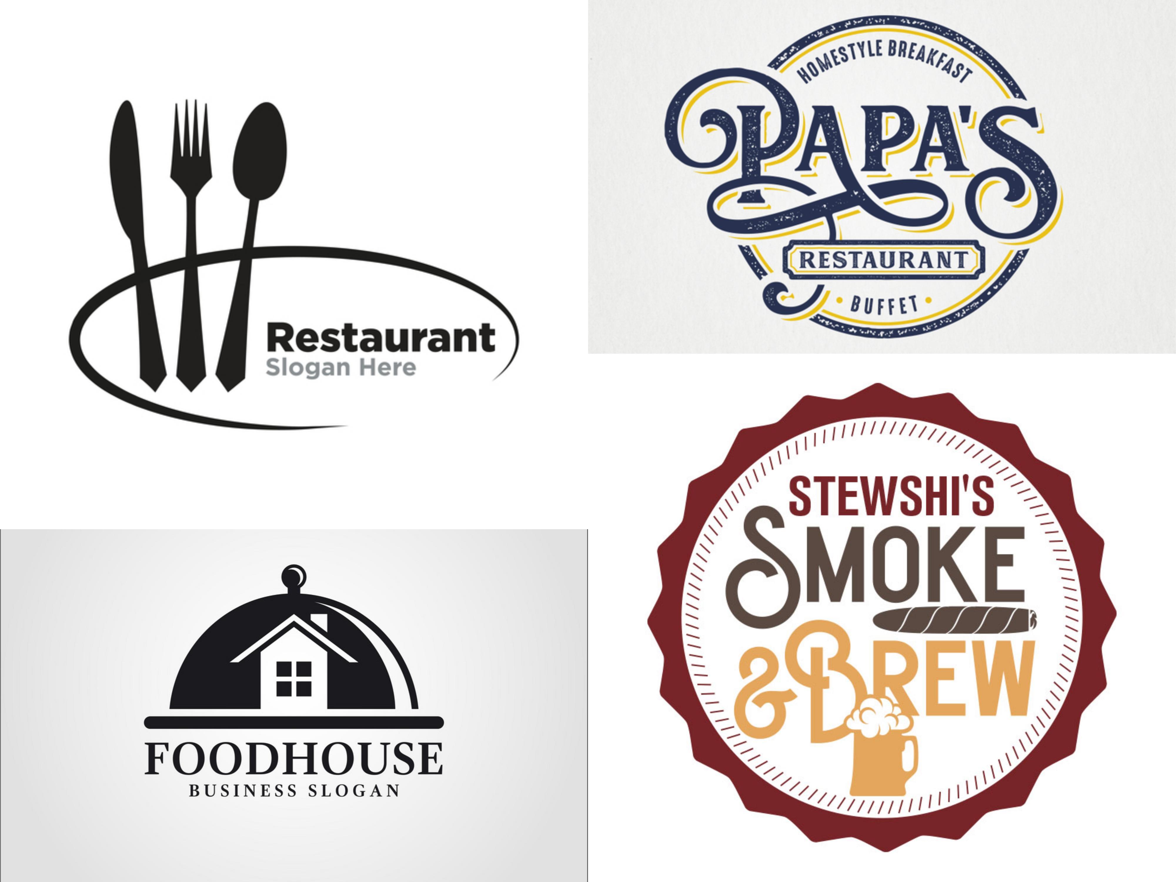 Do Modern Restaurant Food Truck Or Coffee Shop Logo By Grafiqhub