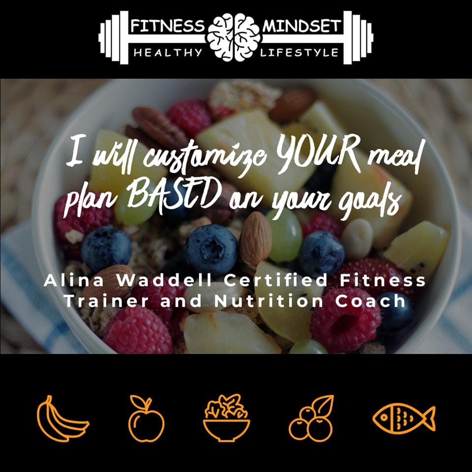 food diet planner custom 7 day