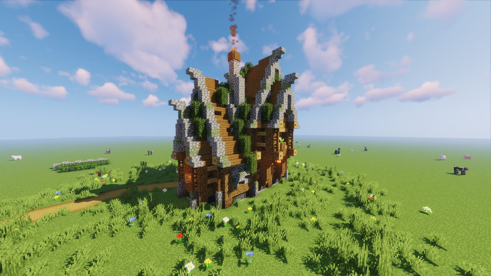 Build you a medieval minecraft house by Kamui11