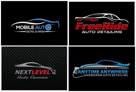 Do Auto Detailing And Modern Auto Mobile Logo For You By Mucreation