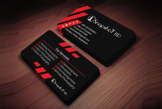 Design Professional Unique Modern Luxury Business Card By Satt Graphics