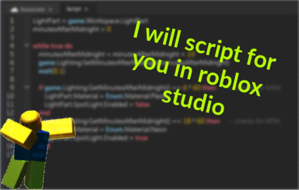 Make Roblox Script For Your Game By Random Dev
