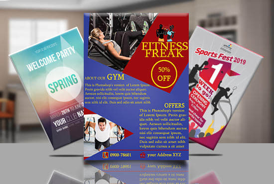 Design Unique Custom Flyers In 24 Hours By Farukh_jamal76