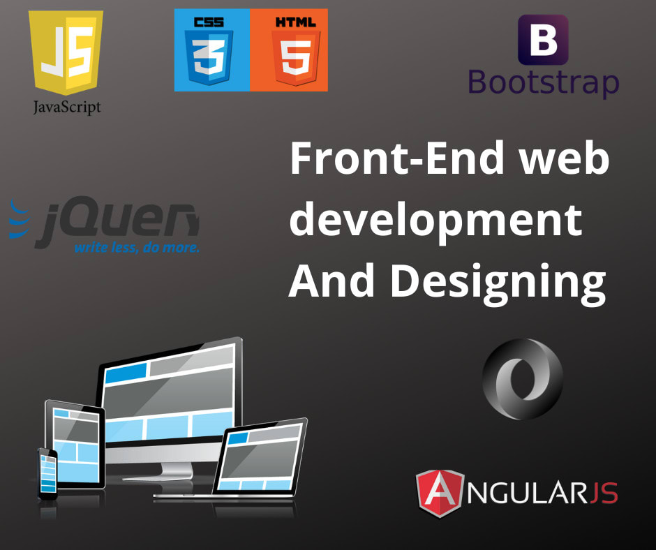 Be Your Front End Developer And Web Designer By Ahmad Raza Rafi