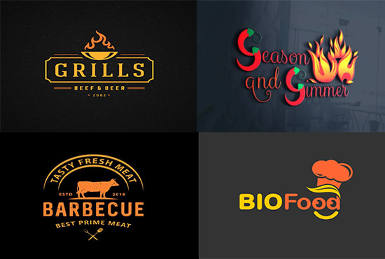 Design Fast Food Coffee Shop And Restaurant Logo By Ad Grfx