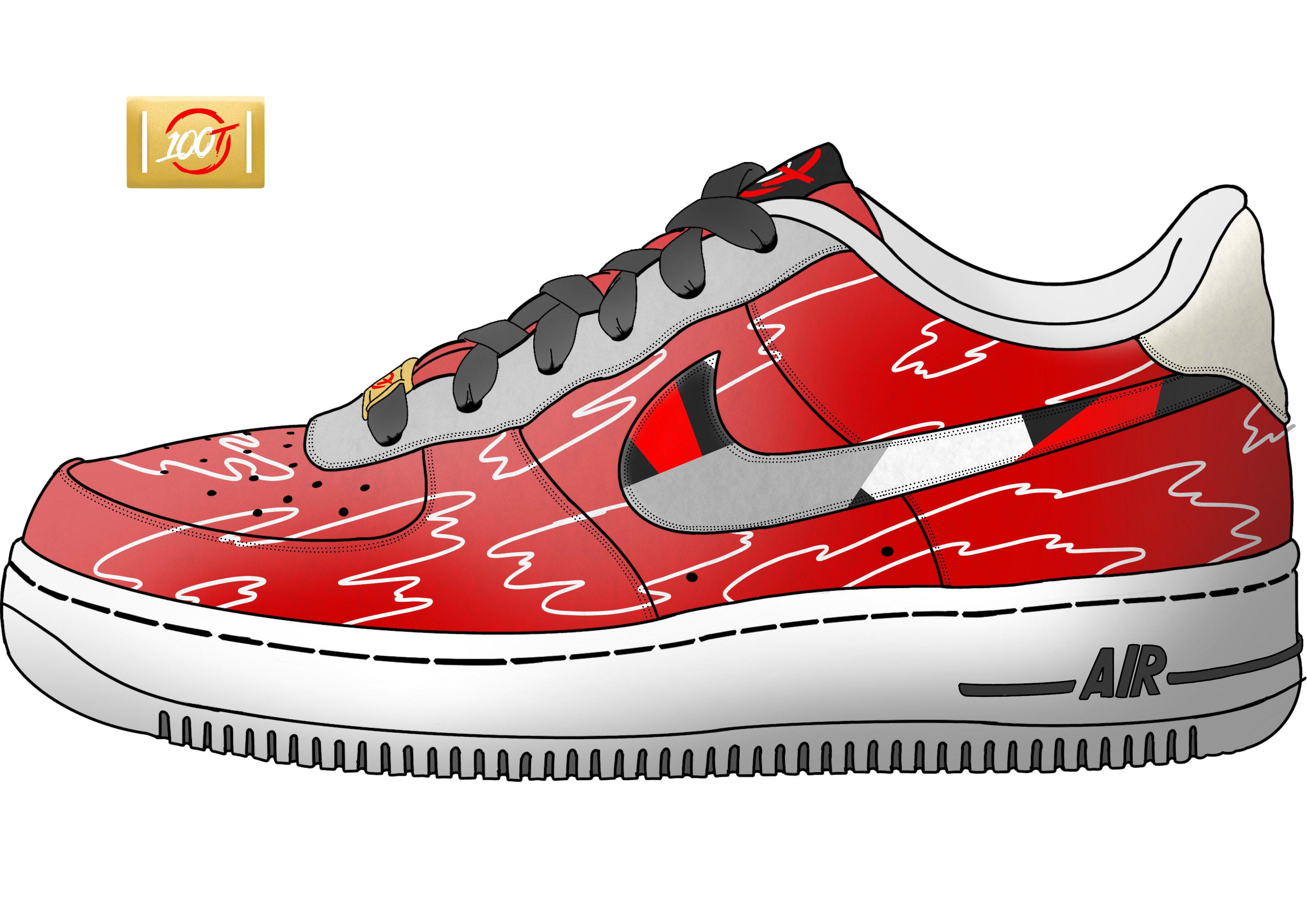 Create custom shoe designs by Pewburt