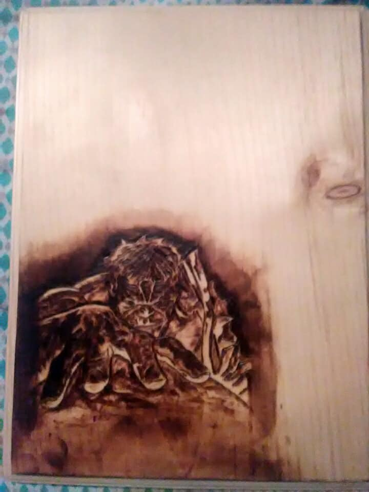 Perform Pyrography Wood Burning By Austinhice