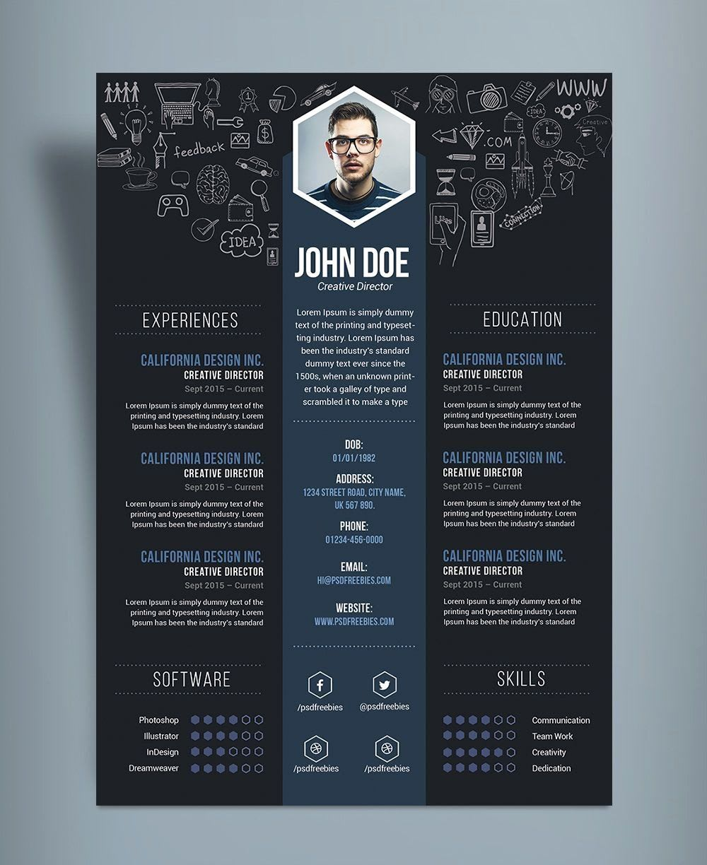 Design Professional Resume Cover Letter Template By Branding Acura Fiverr