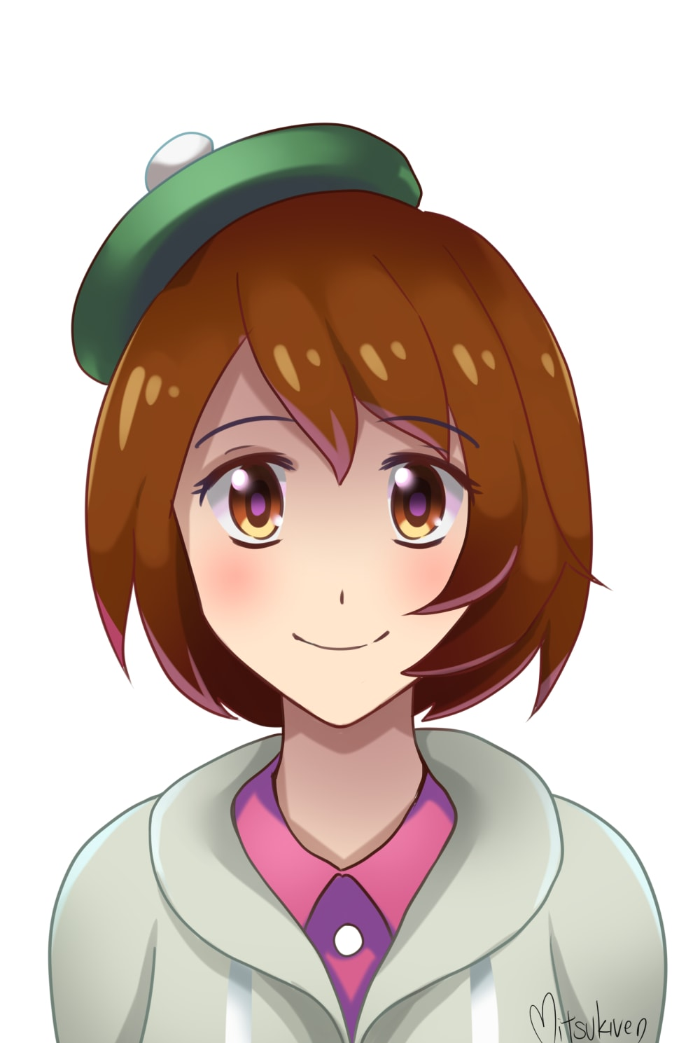 Draw Anime Art With Simple Shading And Line Art By Sapphireying