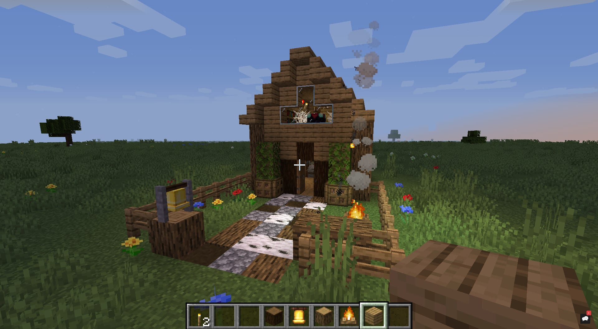 Build You A Small Minecraft House By Pilztv