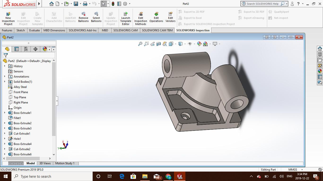 Работа создание 3d модели в solidworks работа для девушка в москве