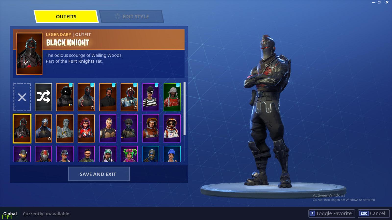 Sell Fortnite Black Knight By Rubendinis