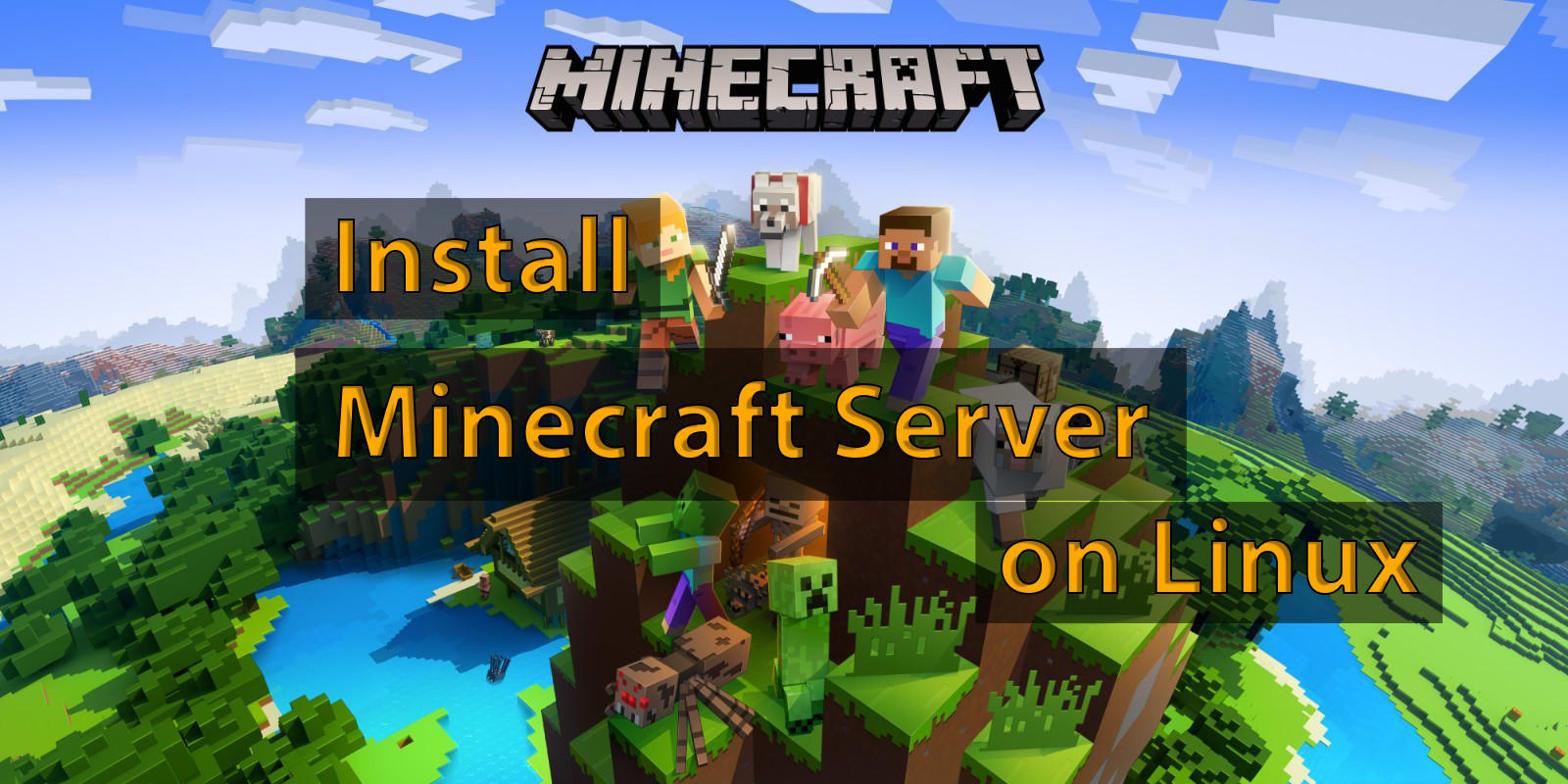 Install Minecraft On Your Linux Server By Donatplayz
