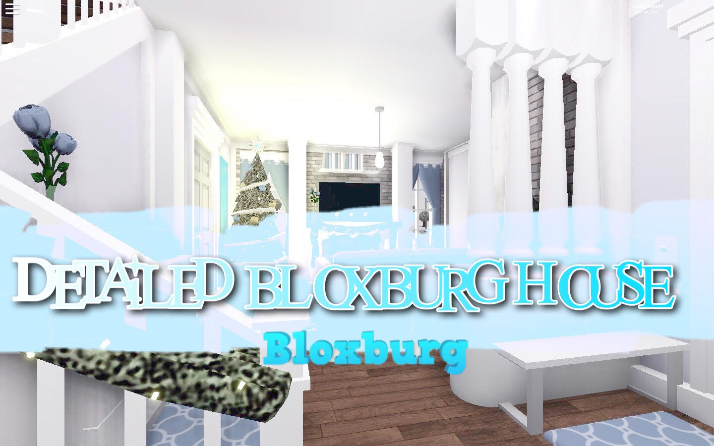 Build You A Detailed Roblox Bloxburg Houses By Basiicxmelody