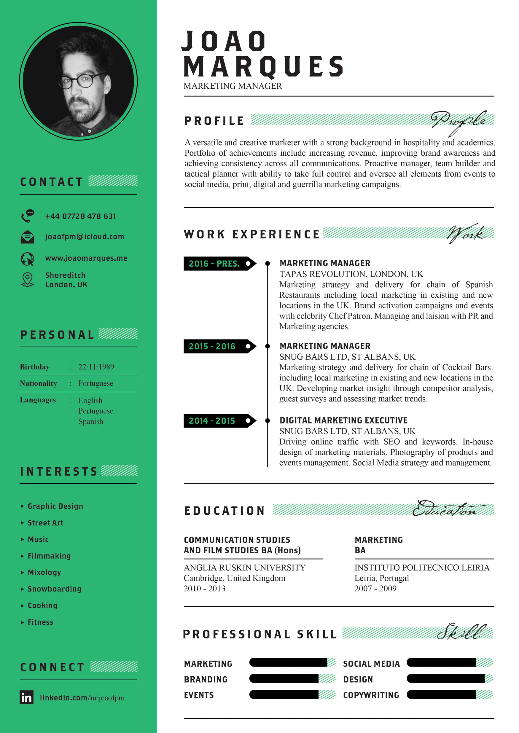 Resume And Cover Letter By Bilal7912