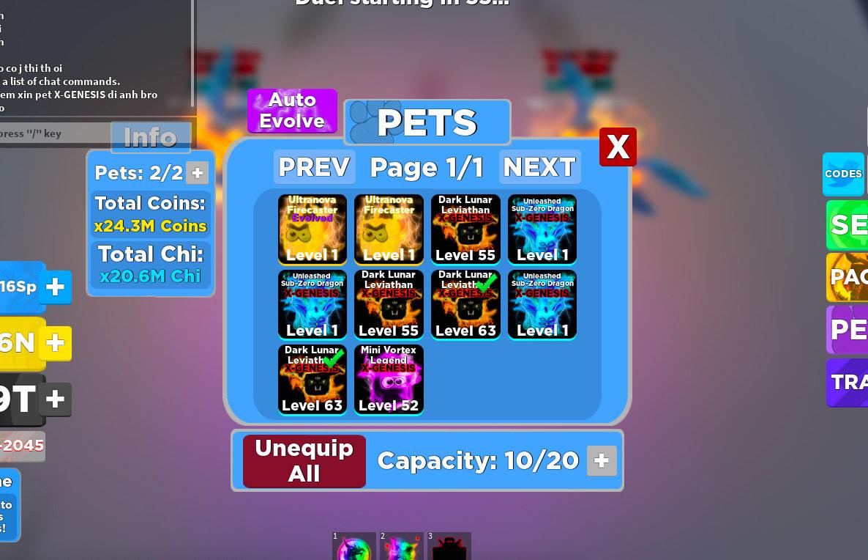 Roblox Ninja Legends Pets By Dadudez