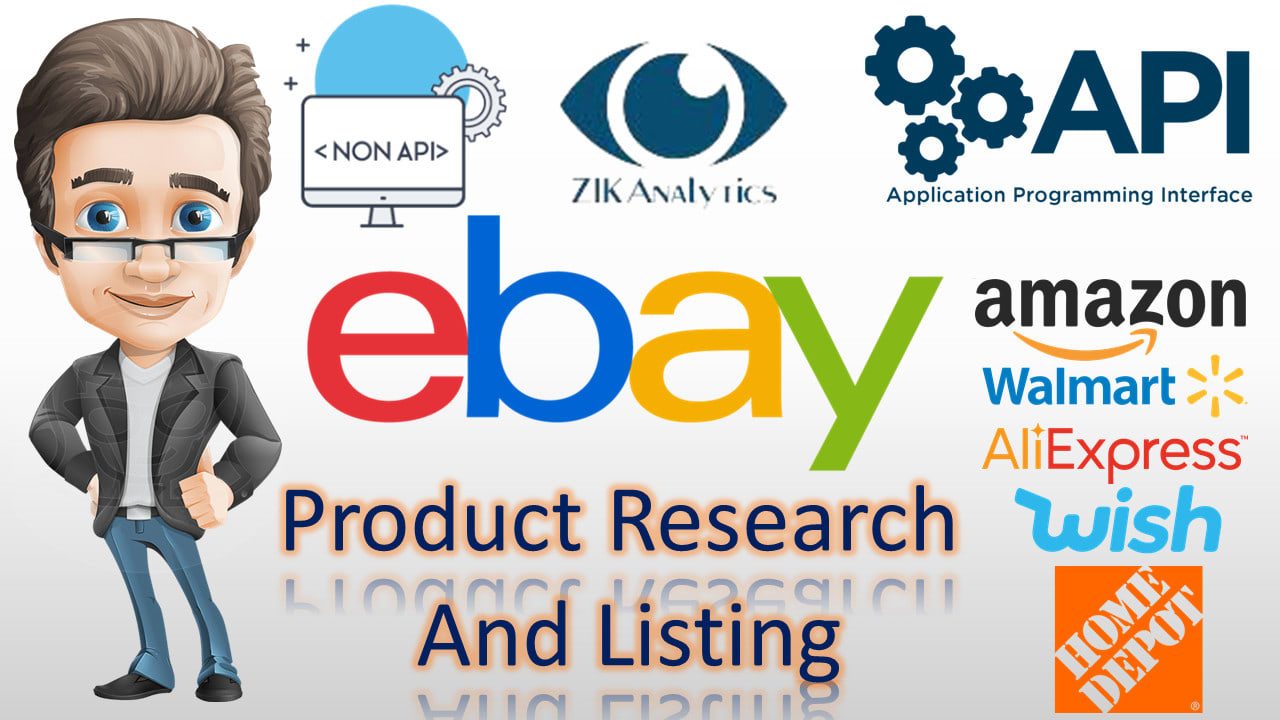 Do Dropshipping Ebay Listing Product Research By Hizain