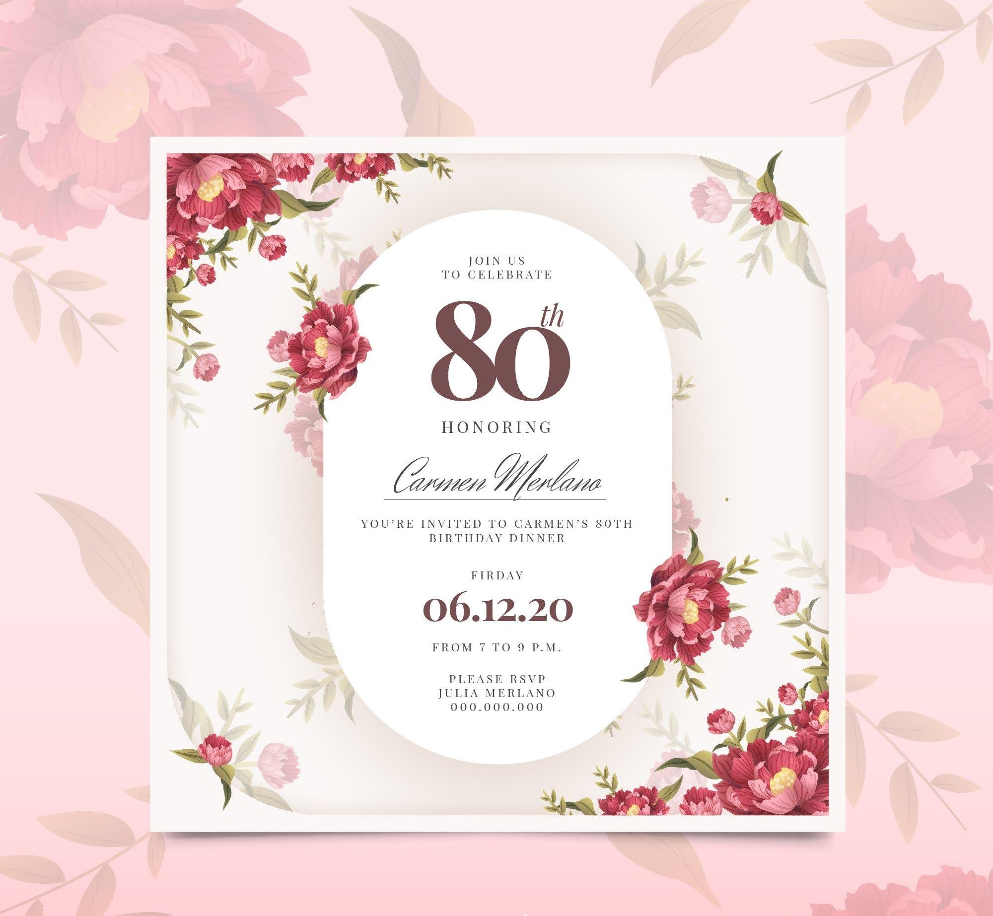 Design unique wedding and birthday invitation card by Nadeem_jamil