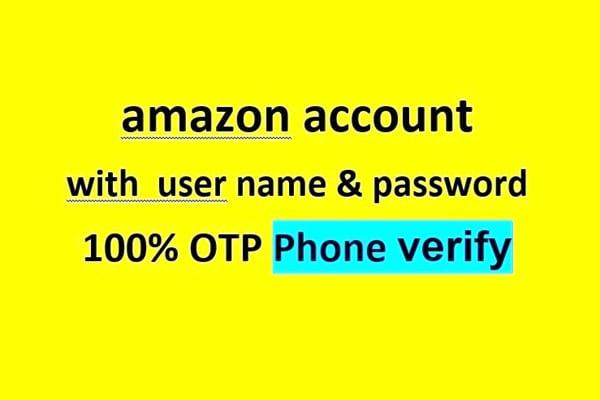 open an amazon account