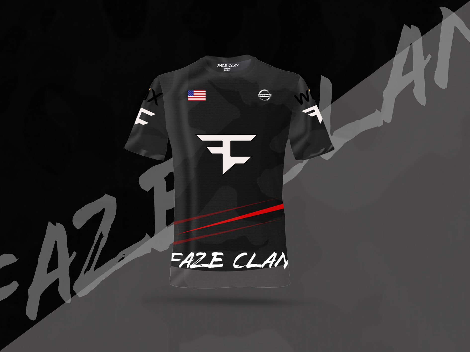 Do professional and clean esports jersey design by Hyp33r | Fiverr