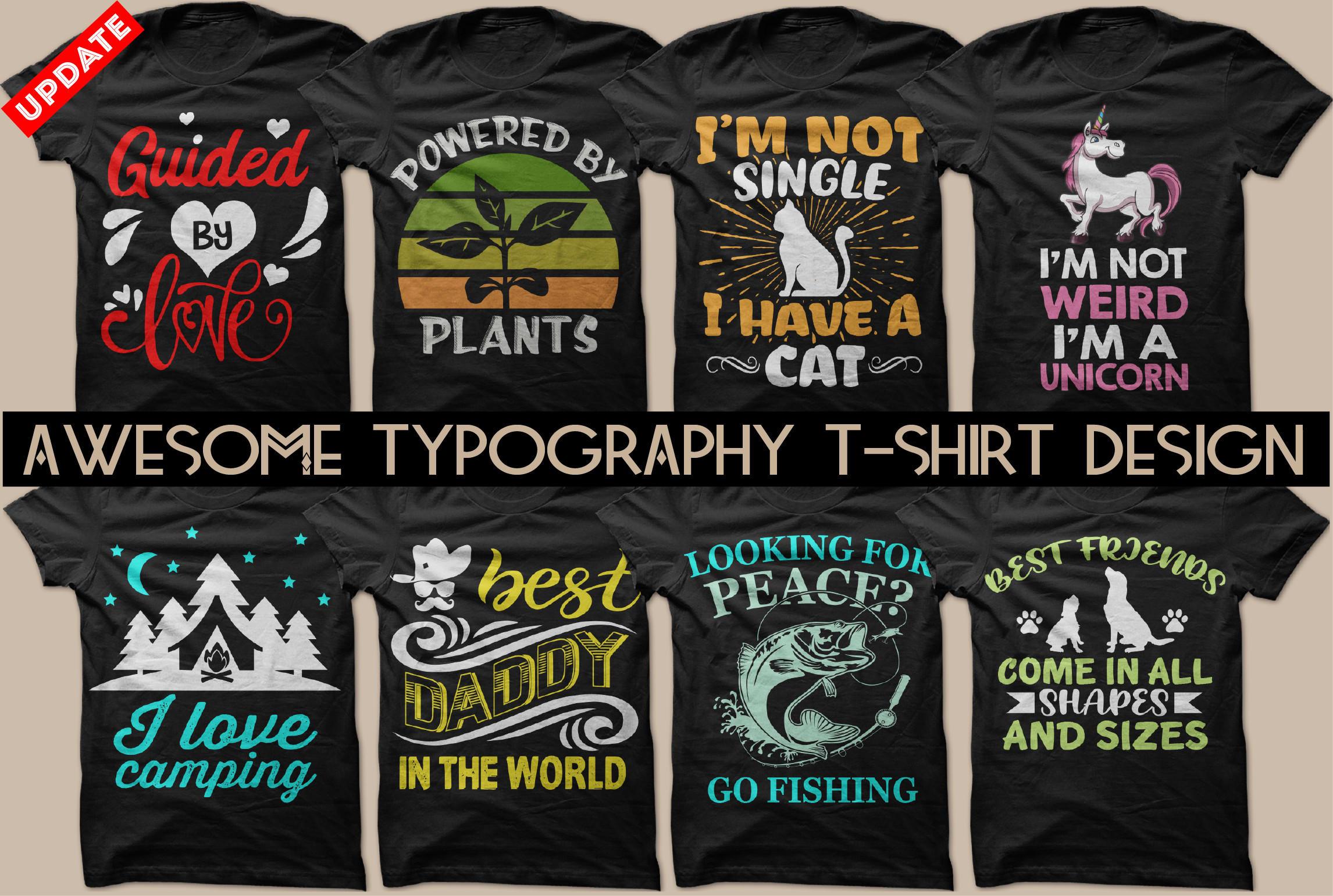 Kids T-Shirt Free Fishing Area Nice Typography Design