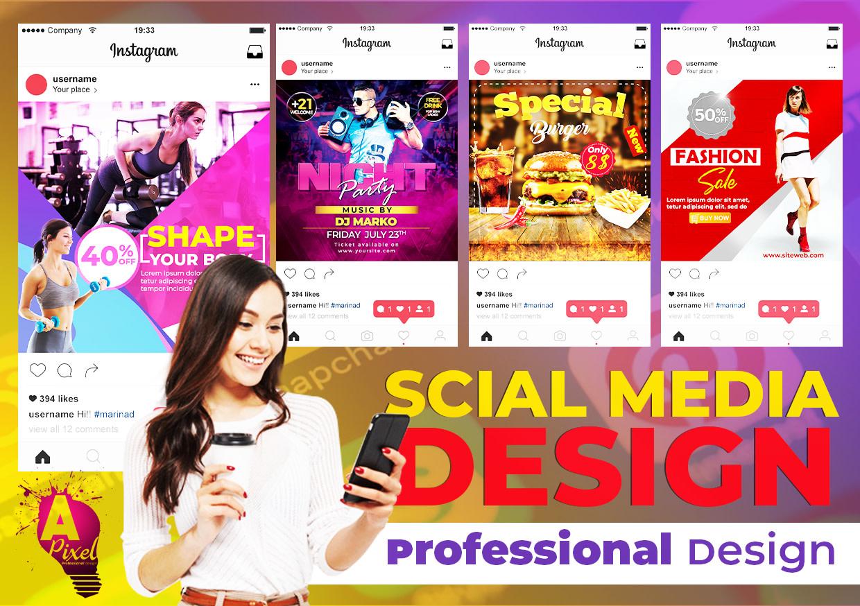 Design Social Media Post Design By Almapixel